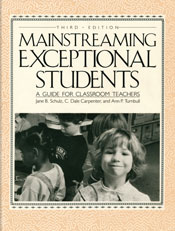 Mainstreaming Exceptional Students 3rd edition