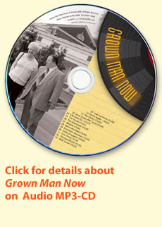 Click here for details about Grown Man Now on audio CD