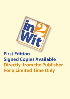 in2wit publishing logo: click here to buy first edition signed copies directly from the publisher for a limited time only